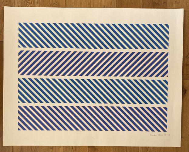 "Untitled – Rothko Memorial Portfolio"" by Bridget Riley"
