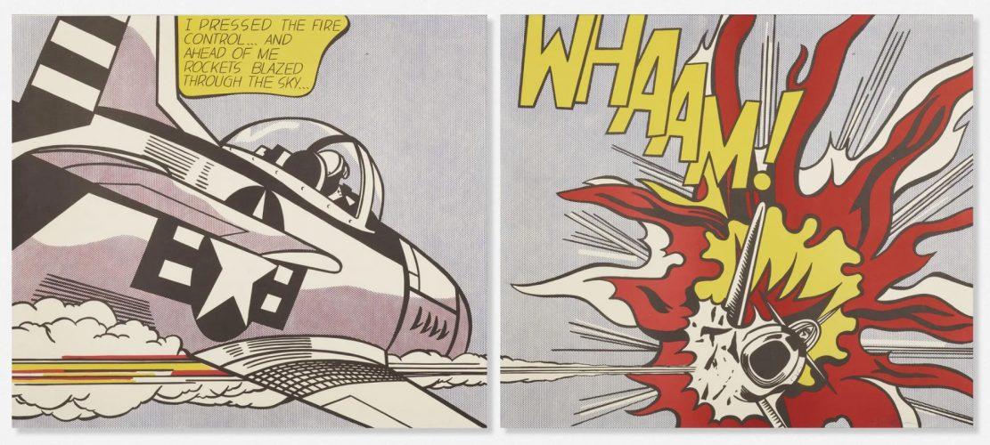 Whaam by Roy Lichtenstein