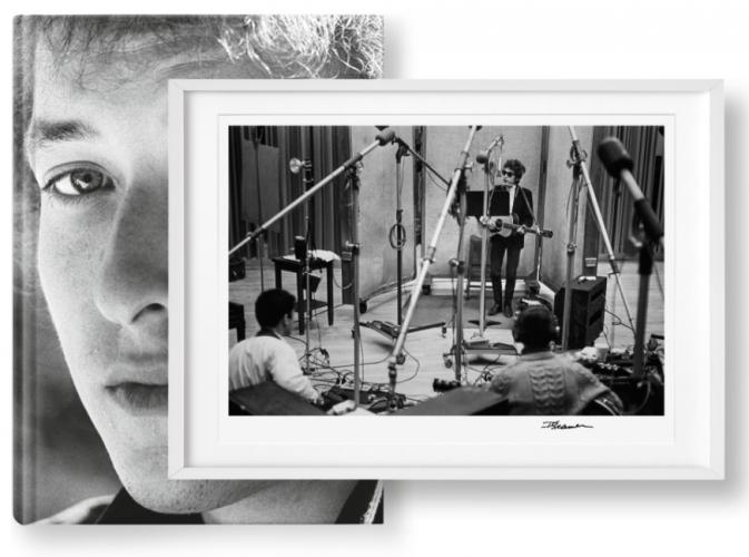 Bob Dylan, Art Edition No. 101–200 'Bob Dylan, Columbia Records, Studio A' by Daniel Kramer