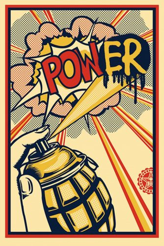 Pow[er] by Shepard Fairey