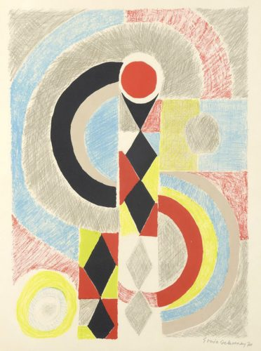 Totem by Sonia Delaunay