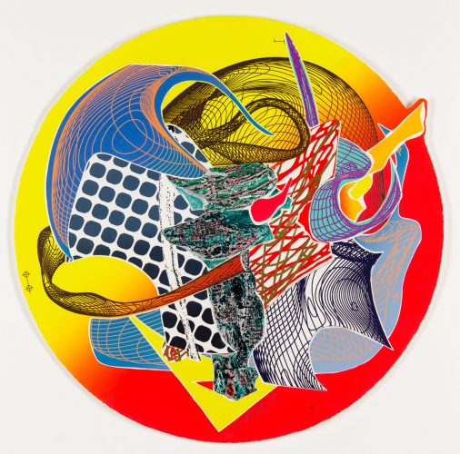 Calnogor by Frank Stella at