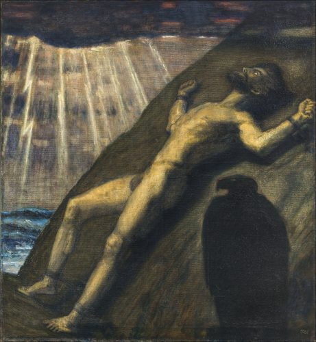 Prometheus by Franz von Stuck