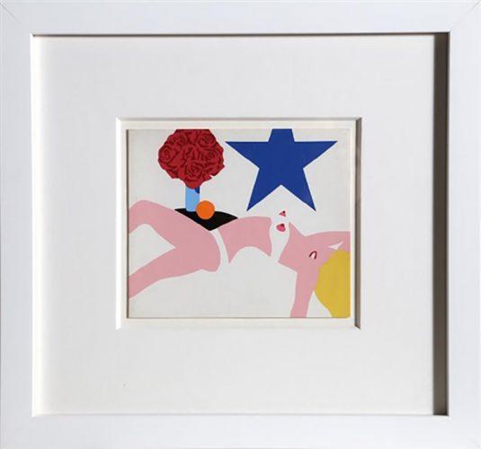Great American Nude by Tom Wesselmann