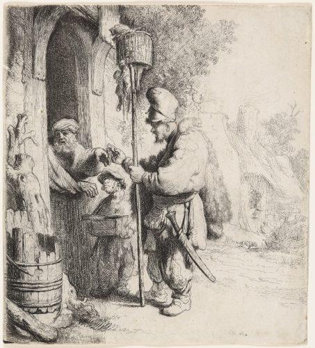 The Rat Catcher (The rat-poison peddler) by Harmensz van Rijn Rembrandt