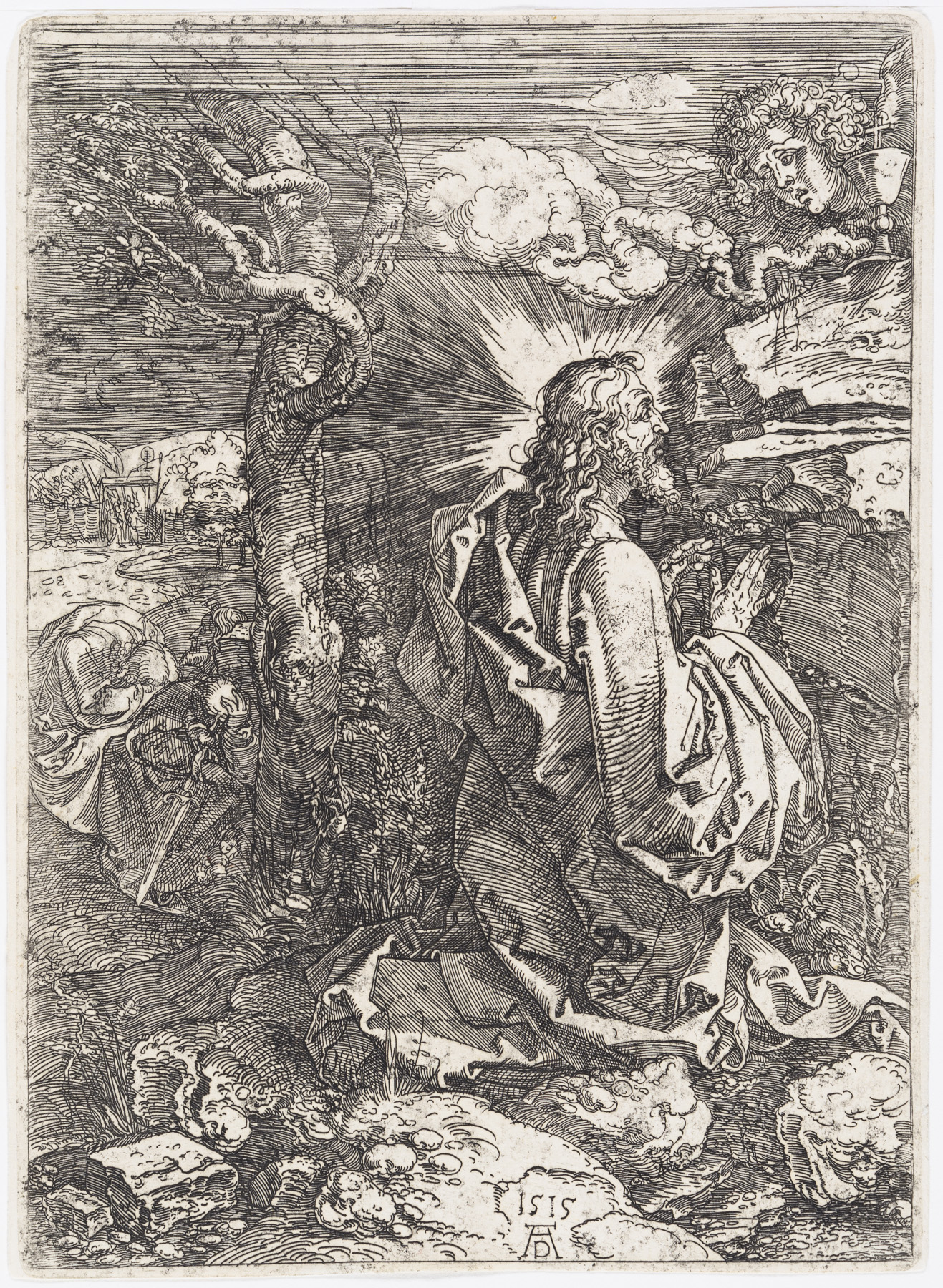 The Agony in the Garden by Albrecht Durer