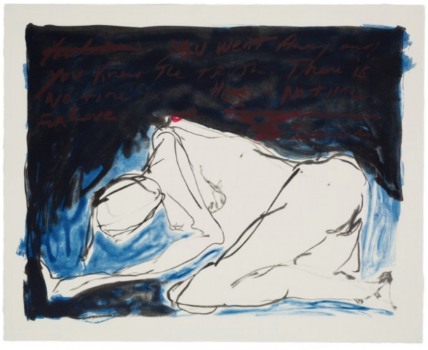 No Time For Love by Tracey Emin