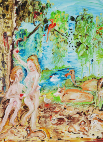 Adam & Eve by Genieve Figgis at