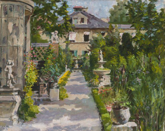 Summer Garden by Charles Vetter