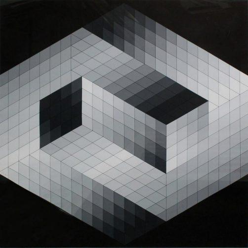Gestalt 8 by Victor Vasarely