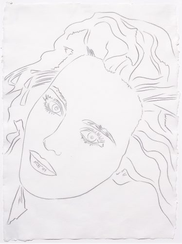 Portrait of Isabelle by Andy Warhol