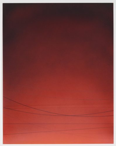Power Line Drawing #11 by Alex Weinstein