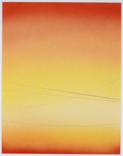 Power Line Drawing #19 by Alex Weinstein