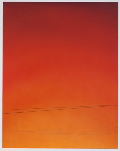 Power Line Drawing #25 (small) by Alex Weinstein