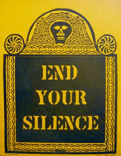 End Your Silence by William Kent at Marc Chabot Fine Arts