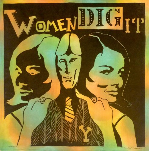 Women Dig It by William Kent at Marc Chabot Fine Arts