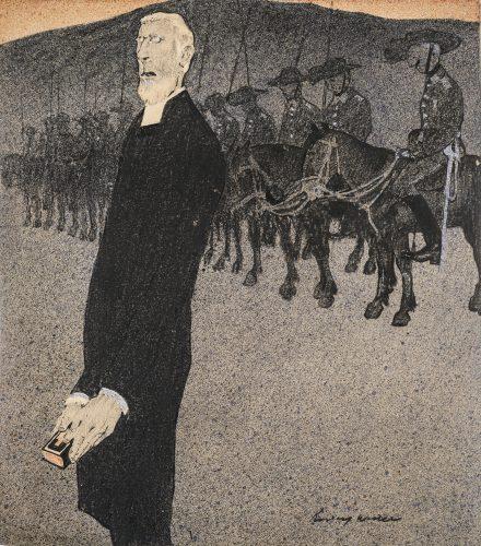 Prayer before Battle by Rudolf Wilke