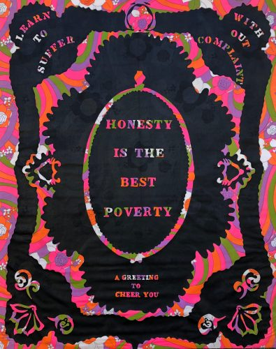 Honesty is The Best Poverty by William Kent at Marc Chabot Fine Arts