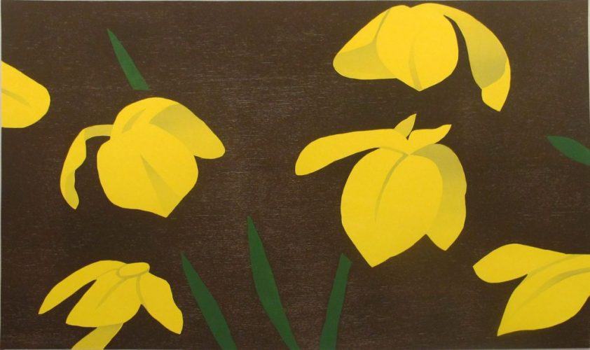 Yellow Flags by Alex Katz