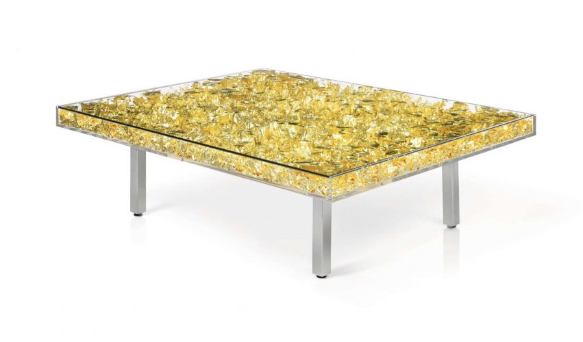 Table d'Or by Yves Klein at