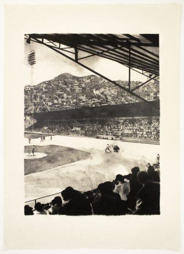 Baseball Game by Michele Zalopany at