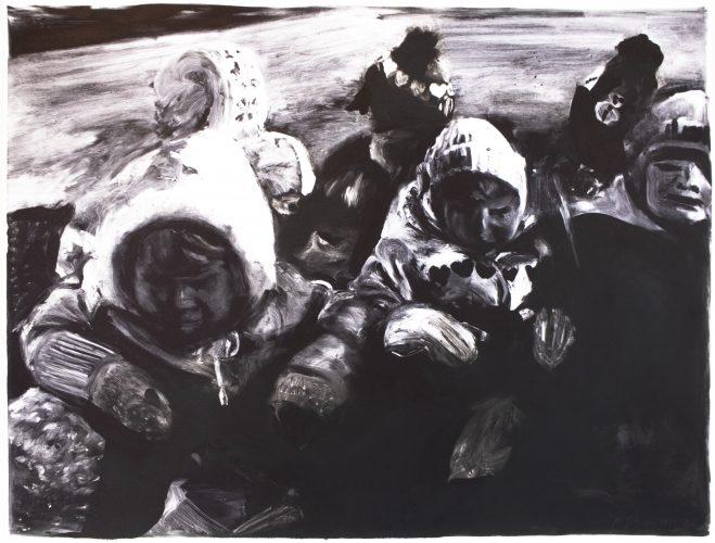 Children (monotype) by Michele Zalopany at Michele Zalopany