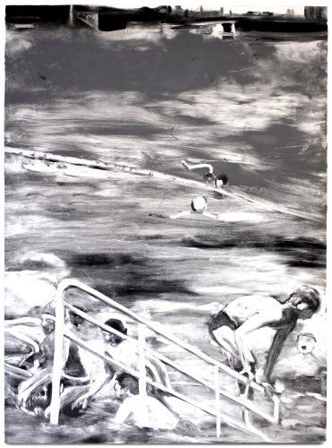 Temptation to Exist (black and white) by Michele Zalopany at Michele Zalopany