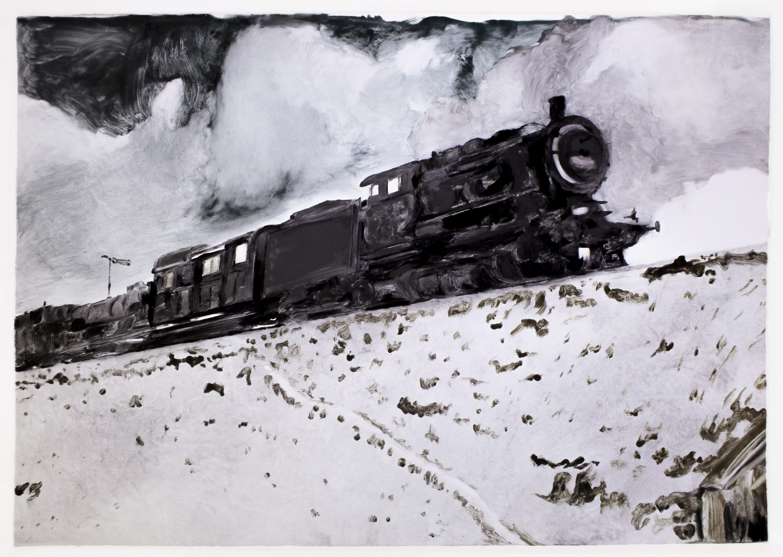 Train by Michele Zalopany
