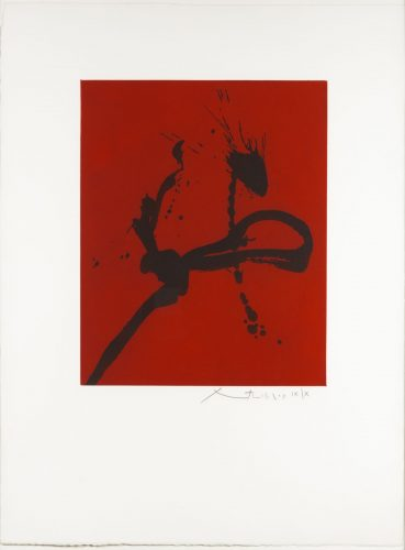 Gesture IV by Robert Motherwell