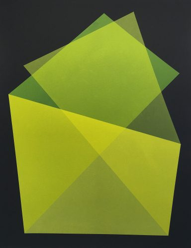 Barn (Yellow) by Willard Boepple