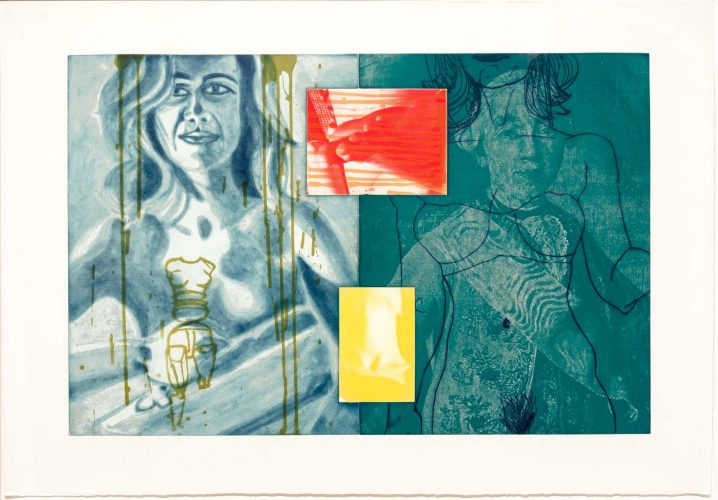 Canfield Hatfield, Plate 8 by David Salle