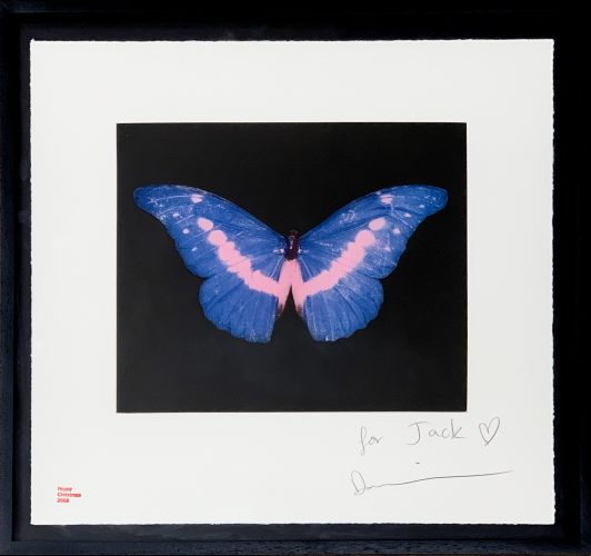 Blue Butterfly (small) by Damien Hirst