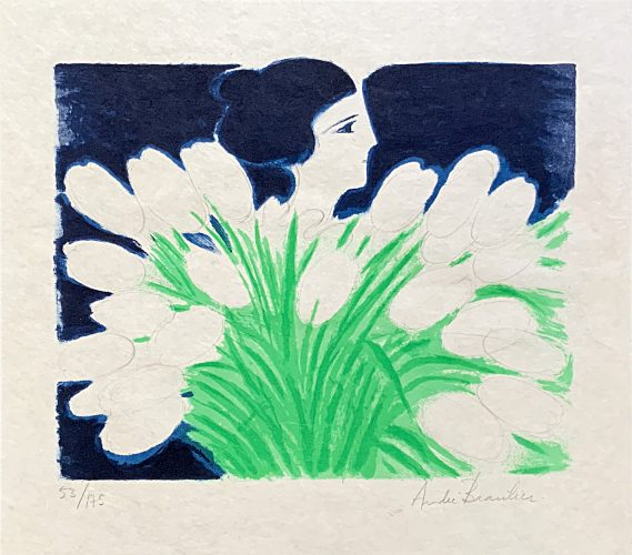 Bouquet de Printemps by André Brasilier