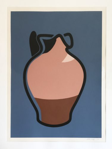 Brown Jug by Patrick Caulfield