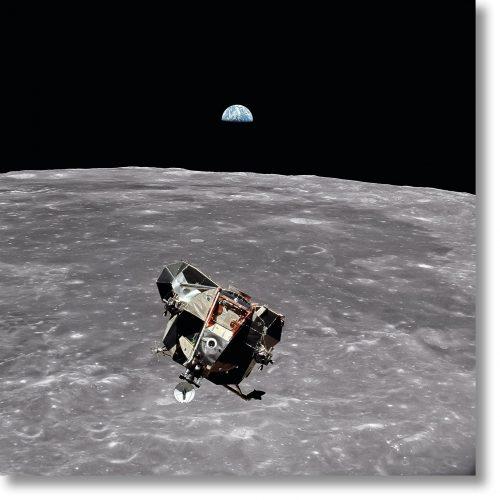 Apollo 11 – Lunar Module Ascent by Buzz Aldrin at Taschen