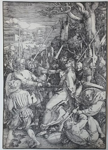 The Betrayal of Christ by Albrecht Durer at Sarah Sauvin (IFPDA)