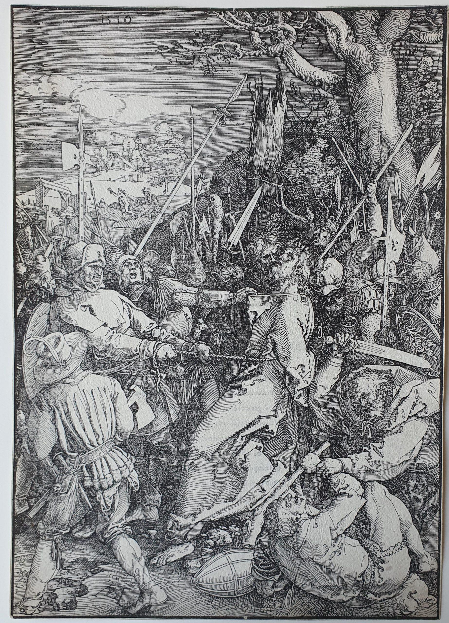 The Betrayal of Christ by Albrecht Durer