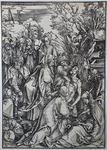 The Entombment by Albrecht Durer at