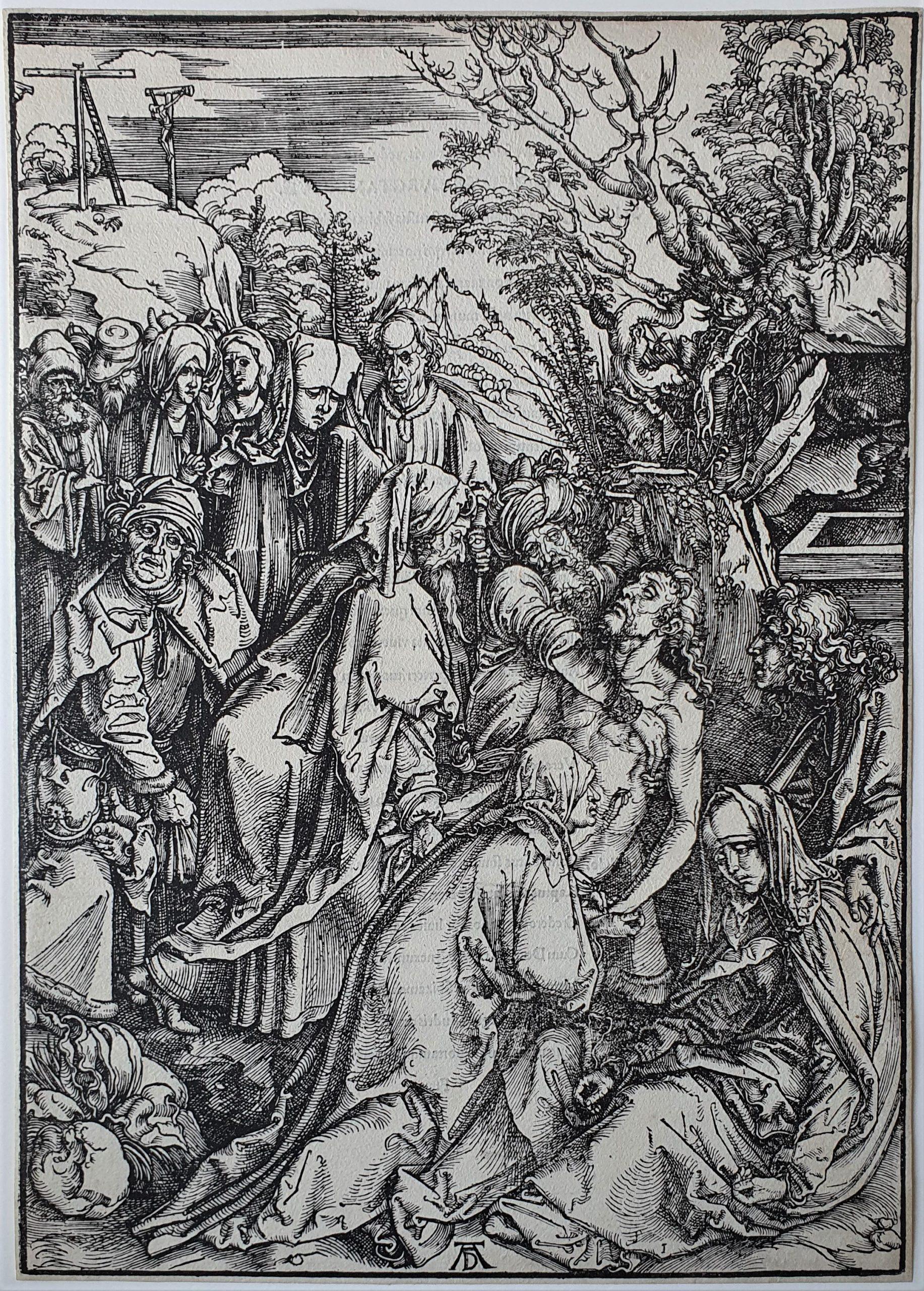 The Entombment by Albrecht Durer