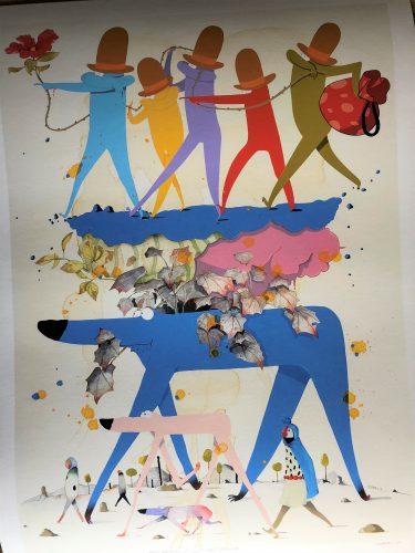 "Gosha Levochkin ""Keep Walking It Will Get Better"" by Gosha Levochkin"