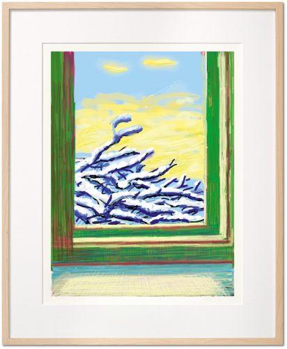 My Window, Art Edition (No. 501–750) 'No. 610', 23rd December 2010 by David Hockney