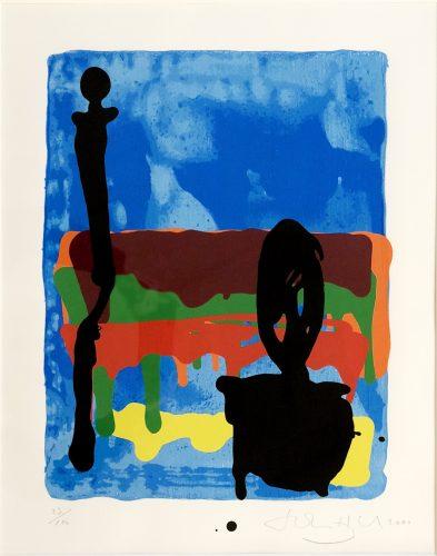 "Untitled– Rothko Memorial Portfolio"" by John Hoyland at"