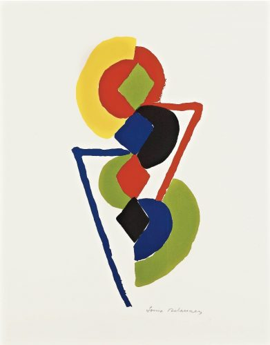 Untitled, 1970 by Sonia Delaunay