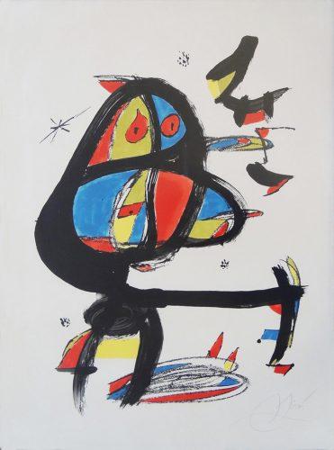 Cap I Cua by Joan Miro