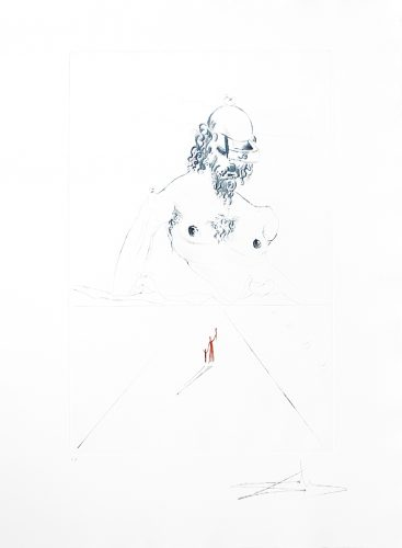 Le Colosse by Salvador Dali