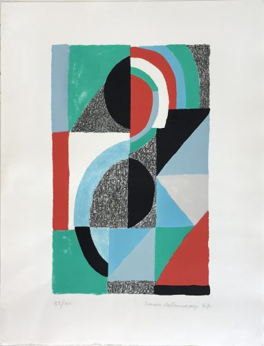 Oriflamme 1967 by Sonia Delaunay