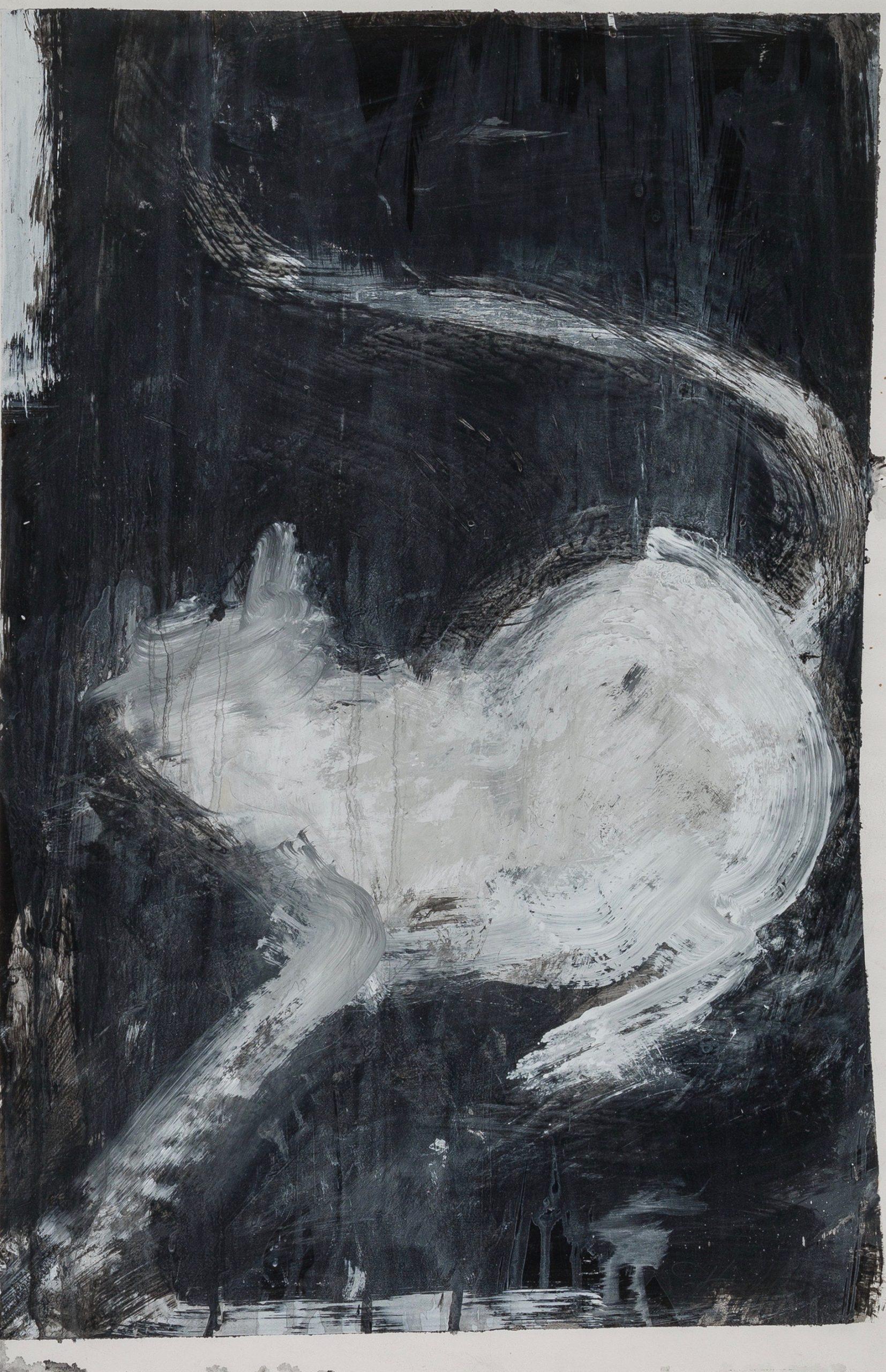 Meow by Richard Hambleton