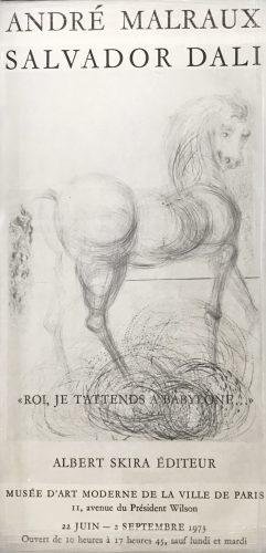 "Roi, je t'attends a Babylone"" by Salvador Dali"