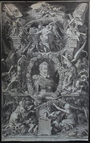 Matthias Emperor by Aegidius Sadeler