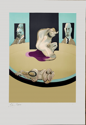 The Human Body (Study for the Metropolitan Museum of Art) by Francis Bacon